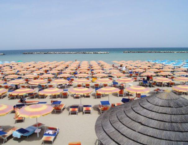Hotel Antonella & Mael Gatteo Mare - Spiaggia